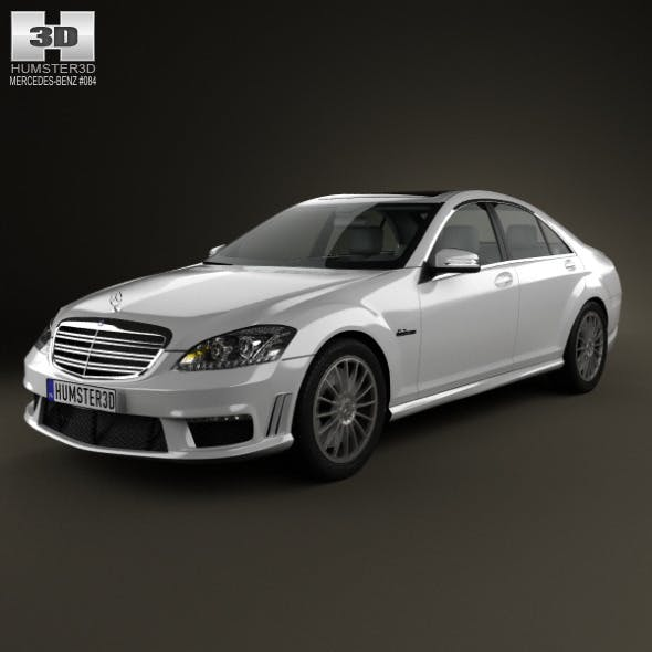 Mercedes-Benz S-class 65 AMG 2012 - 3DOcean Item for Sale