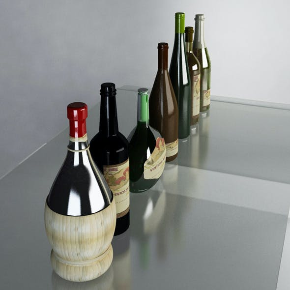 Luxury Wine Bottles MAX 2011