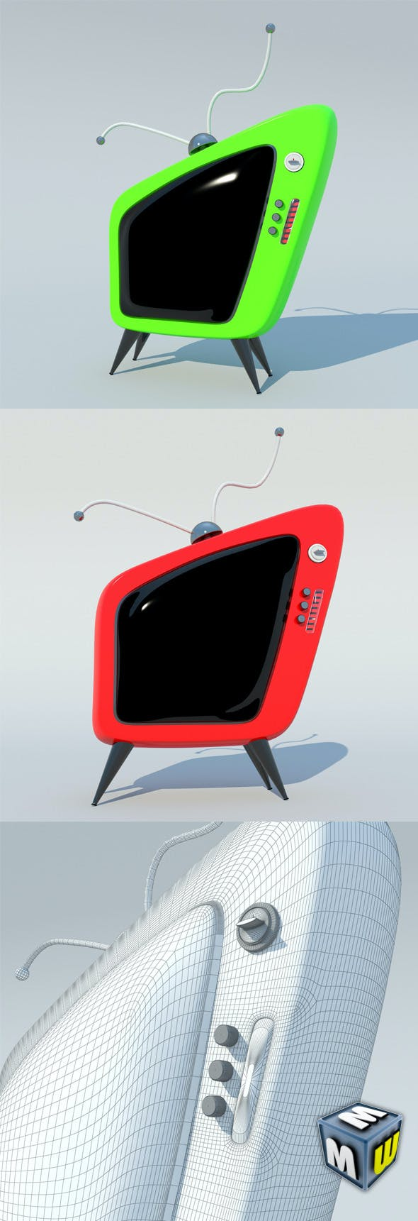 TV Cartoon MAX 2011 - 3DOcean Item for Sale