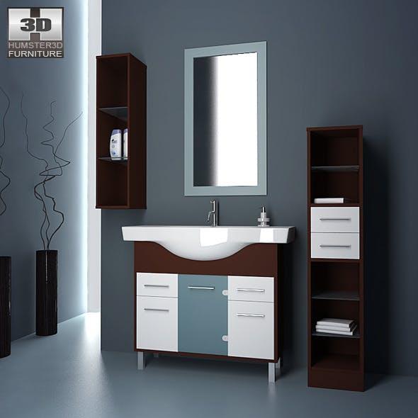 Bathroom 06 Set - 3DOcean Item for Sale