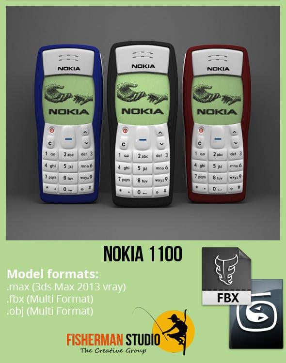 Nokia 1100 - 3DOcean Item for Sale