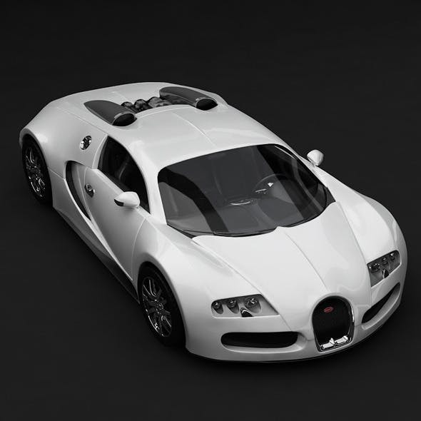 Veyron Bugatti - White