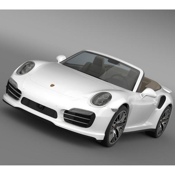 Porsche 911 Turbo S Cabrio 2014