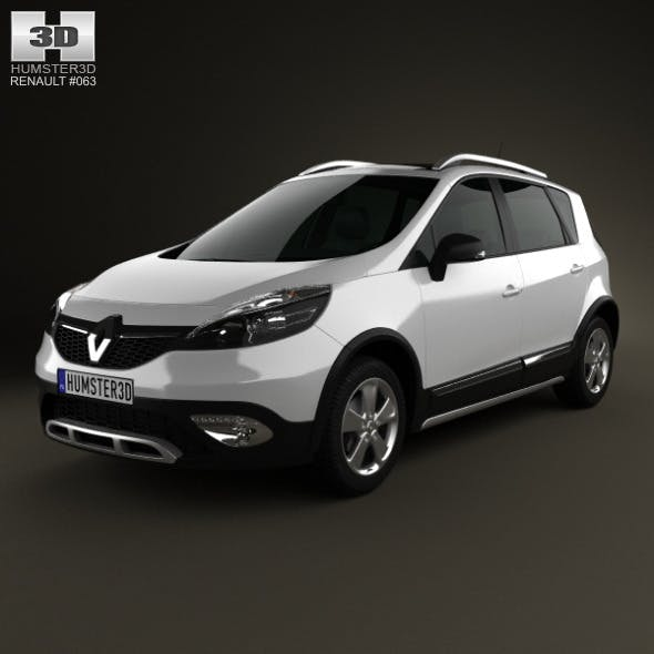 Renault Scenic XMOD 2013 - 3DOcean Item for Sale