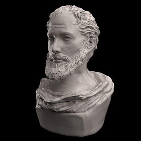 Aristotel Bust Statue