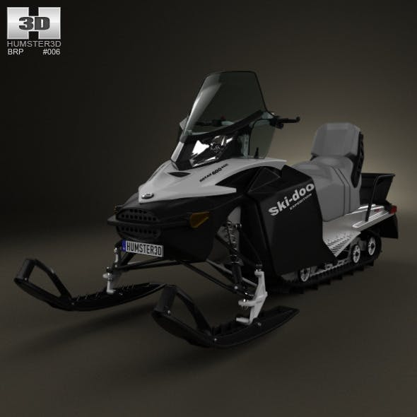 BRP Ski-Doo Expedition Sport 2012 - 3DOcean Item for Sale