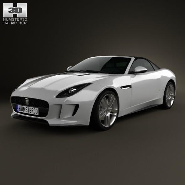 Jaguar F-Type S convertible 2013 - 3DOcean Item for Sale