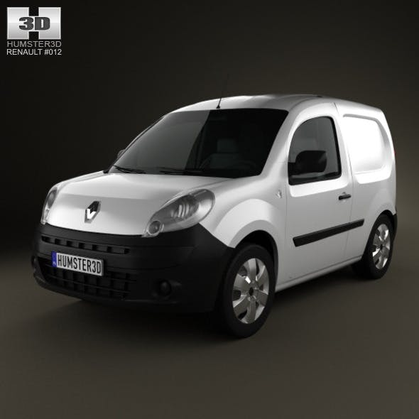 Renault Kangoo Compact 2011 - 3DOcean Item for Sale