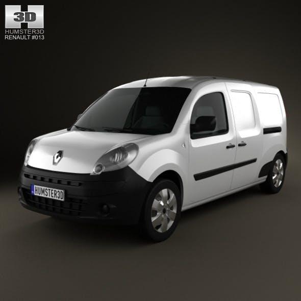 Renault Kangoo Maxi 2011 - 3DOcean Item for Sale