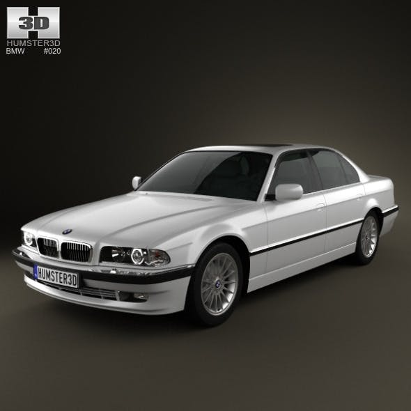 BMW 7 series e38 1998 - 3DOcean Item for Sale