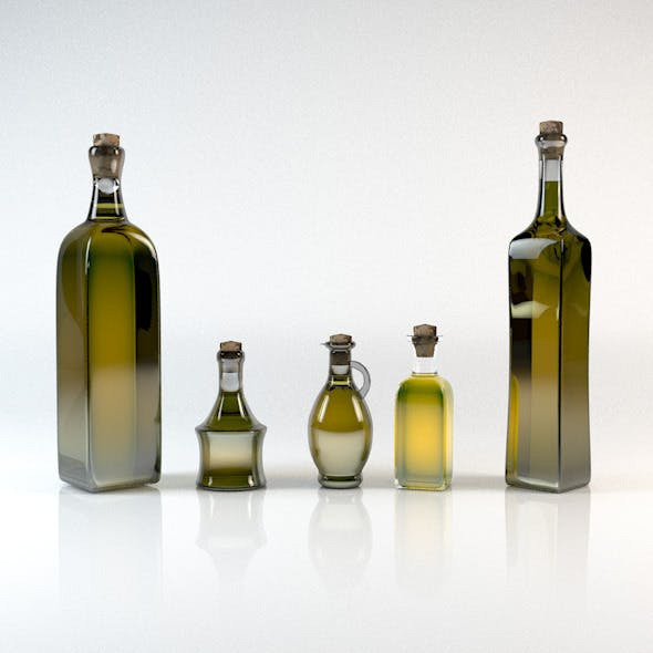 Olive Oil Bottle Pack 5in1