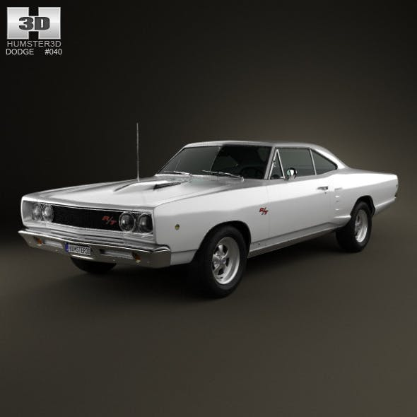 Dodge Coronet R/T Coupe 1968 - 3DOcean Item for Sale