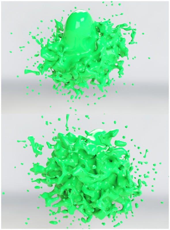 Highly Detailed Splash Model  - 3DOcean Item for Sale