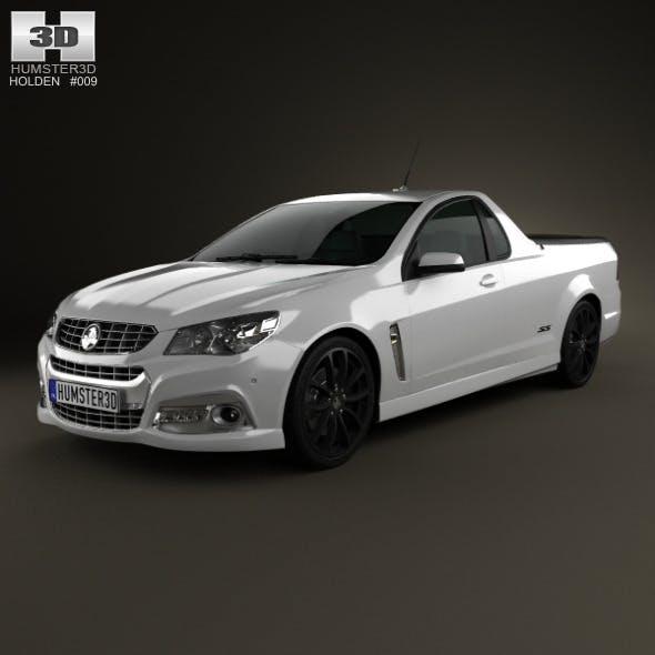 Holden VF Commodore Calais V UTE 2013 - 3DOcean Item for Sale