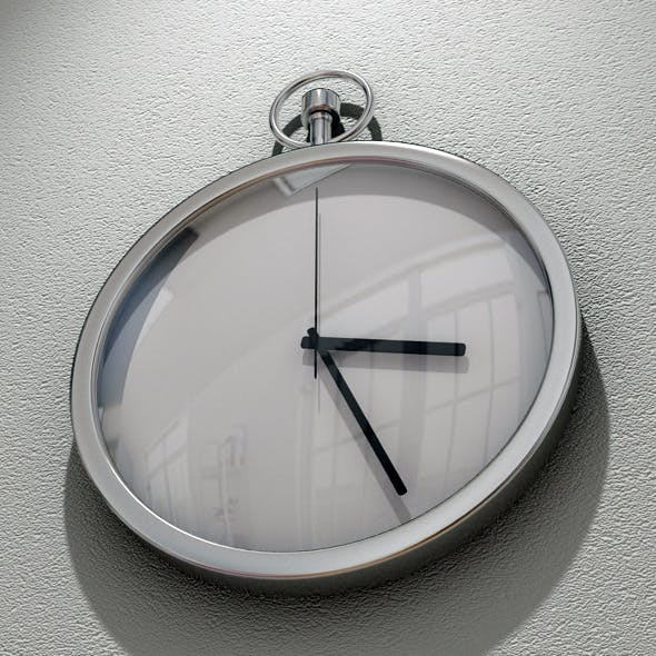 Decorative Wall clock - 3DOcean Item for Sale