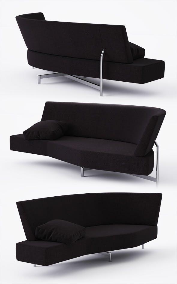Sofa Edra Shark - 3DOcean Item for Sale