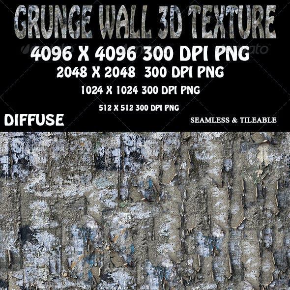 Grunge Wall 3D Texture