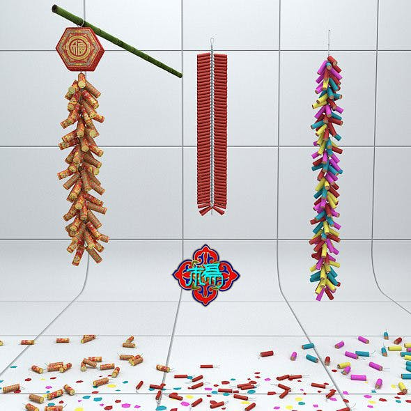Chinese traditional firecrackers