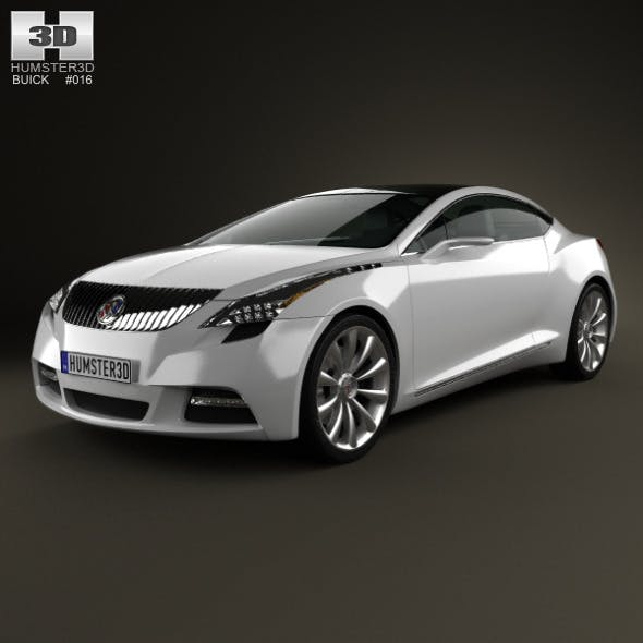Buick Riviera 2007 - 3DOcean Item for Sale