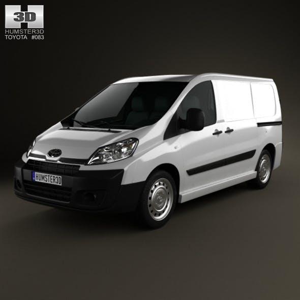 Toyota ProAce Van L1H1 2012 - 3DOcean Item for Sale