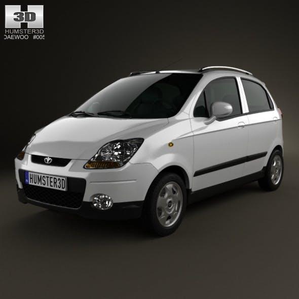 Daewoo Matiz M250 2011 - 3DOcean Item for Sale