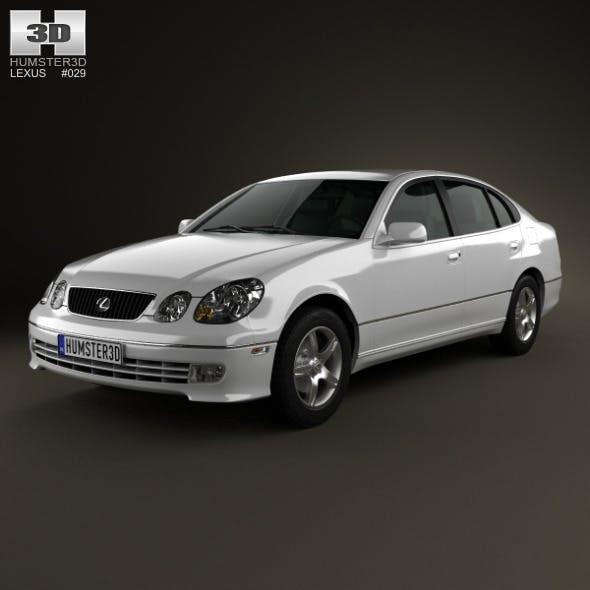 Lexus GS (S160) 2004