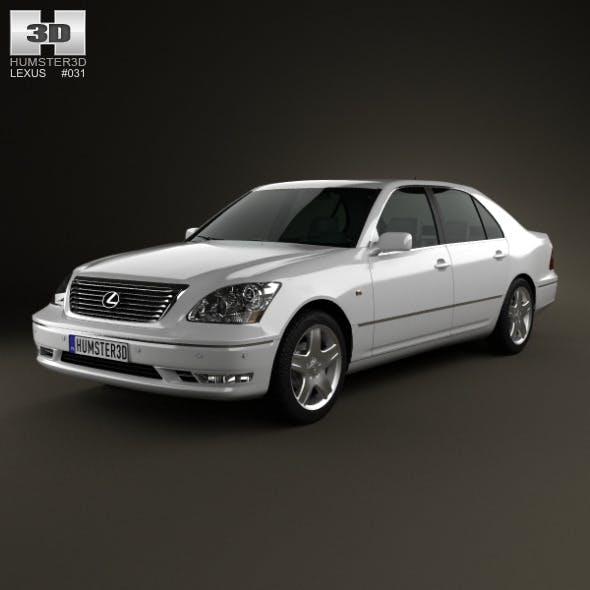 Lexus LS (XF30) 2003 - 3DOcean Item for Sale