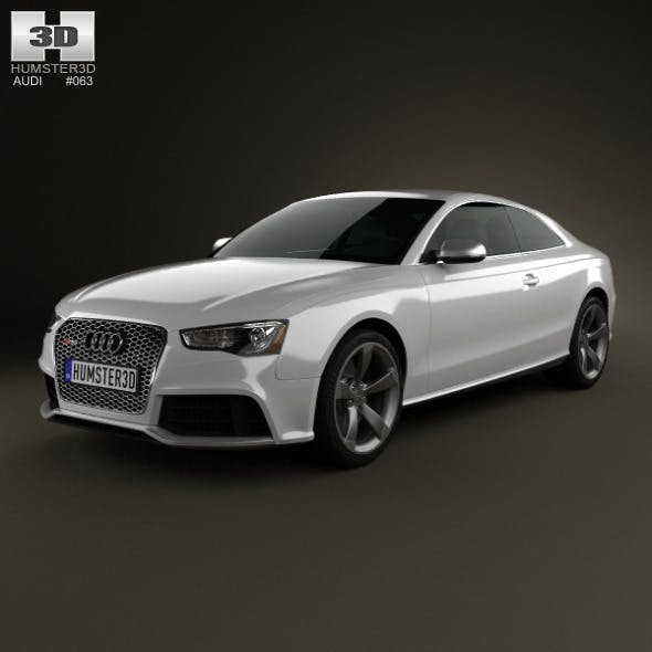 Audi RS5 coupe 2012 - 3DOcean Item for Sale