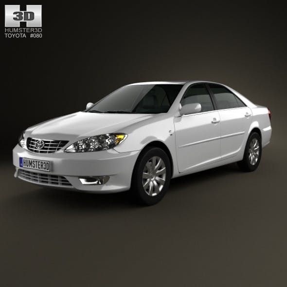 Toyota Camry (XV30) 2004 - 3DOcean Item for Sale