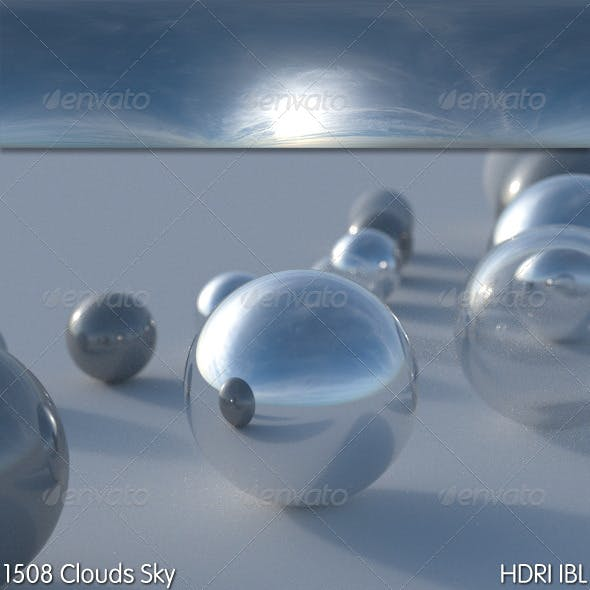 HDRI IBL 1508 Clouds Sky - 3DOcean Item for Sale