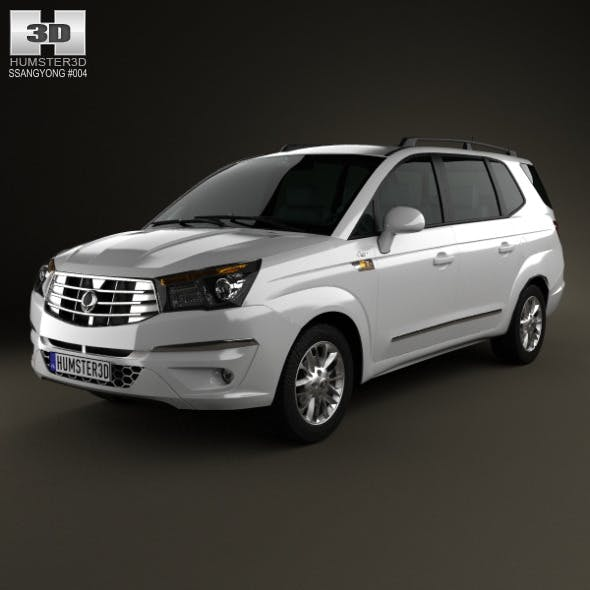 SsangYong Rodius 2013 - 3DOcean Item for Sale