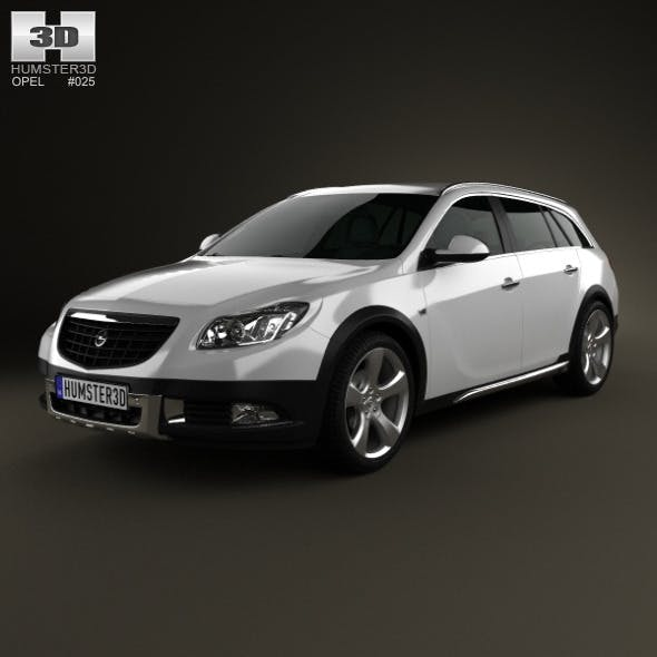 Opel Insignia Cross Four 2013 - 3DOcean Item for Sale