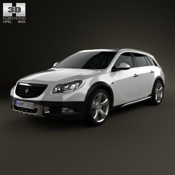 Opel Insignia Cross Four 2013