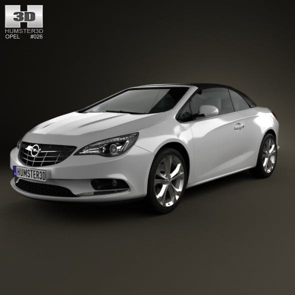 Opel Cascada (Cabrio) 2013 - 3DOcean Item for Sale