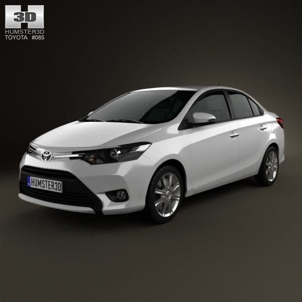 Toyota Vios 2013 - 3DOcean Item for Sale