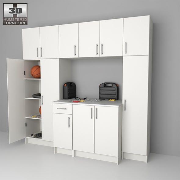 Garage furniture 02 Set - 3DOcean Item for Sale