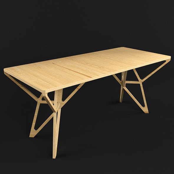 Hristo Table - 3DOcean Item for Sale