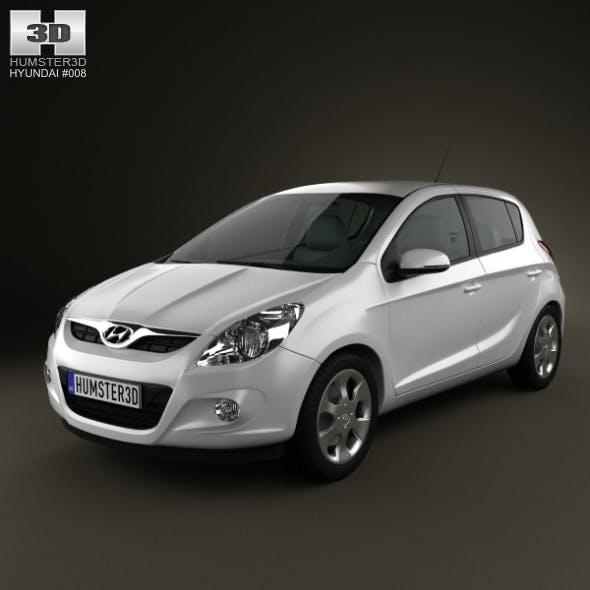Hyundai i20 5door 2010 - 3DOcean Item for Sale