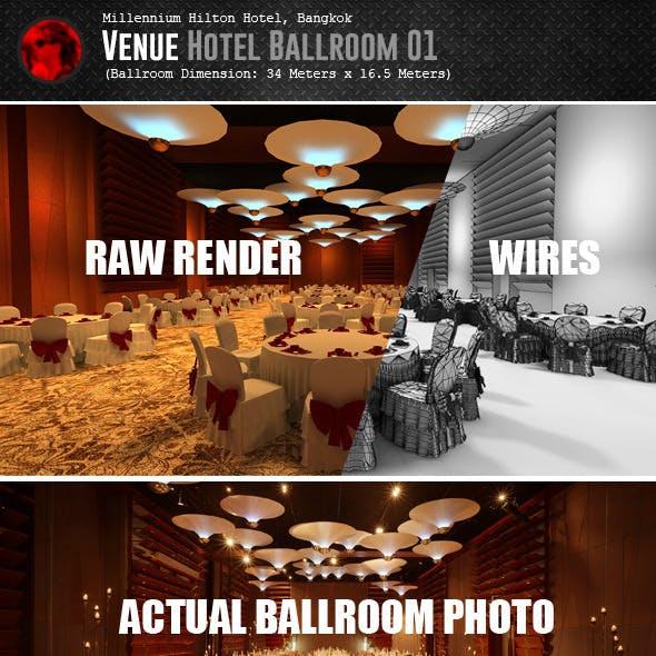 Venue Hotel Ballroom 01