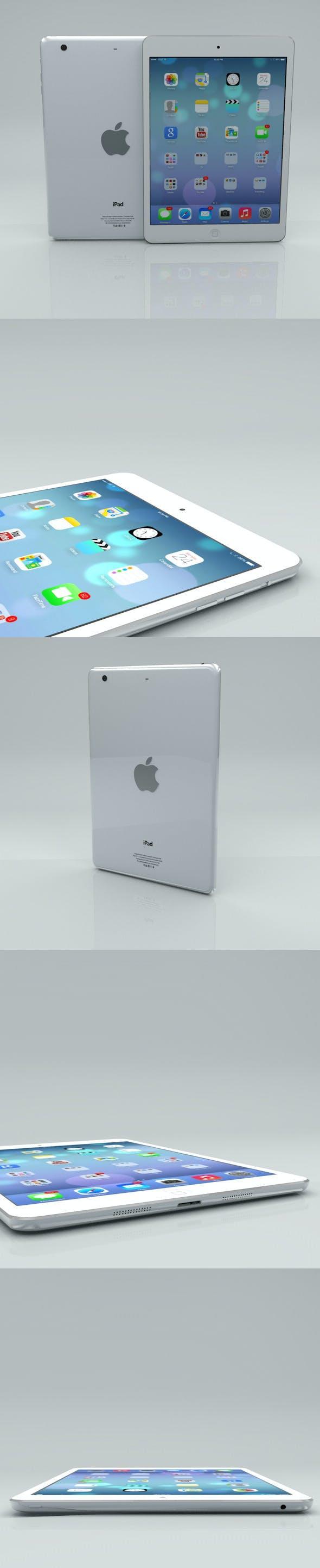 Apple iPad Air - 3DOcean Item for Sale