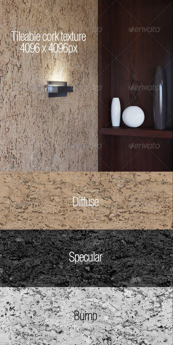 Cork texture - 3DOcean Item for Sale