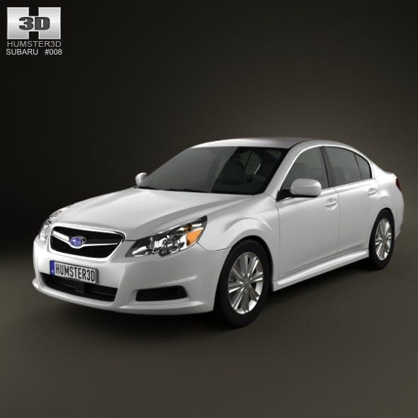 Subaru Legacy sedan US 2011 - 3DOcean Item for Sale