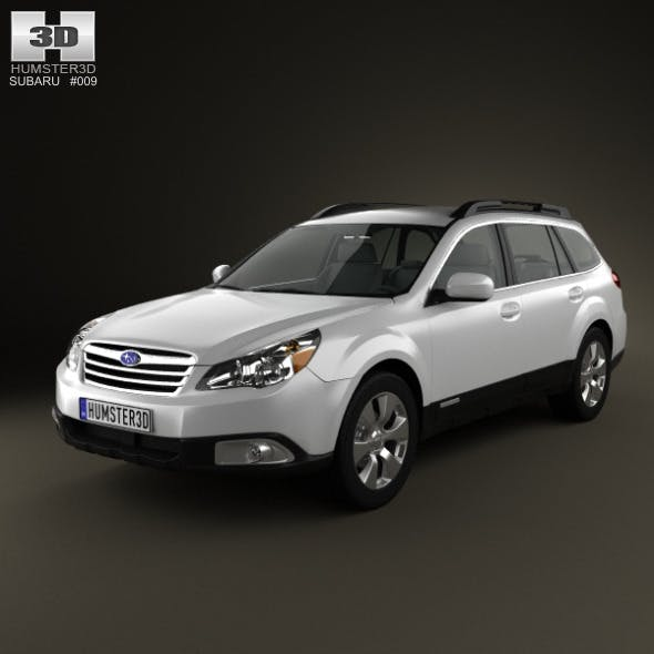 Subaru Outback US 2011 - 3DOcean Item for Sale