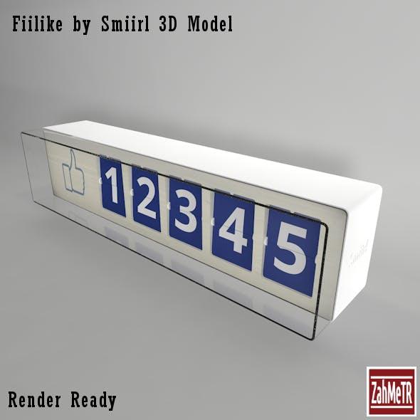 Fiilike by Smiirl 3D Model - 3DOcean Item for Sale