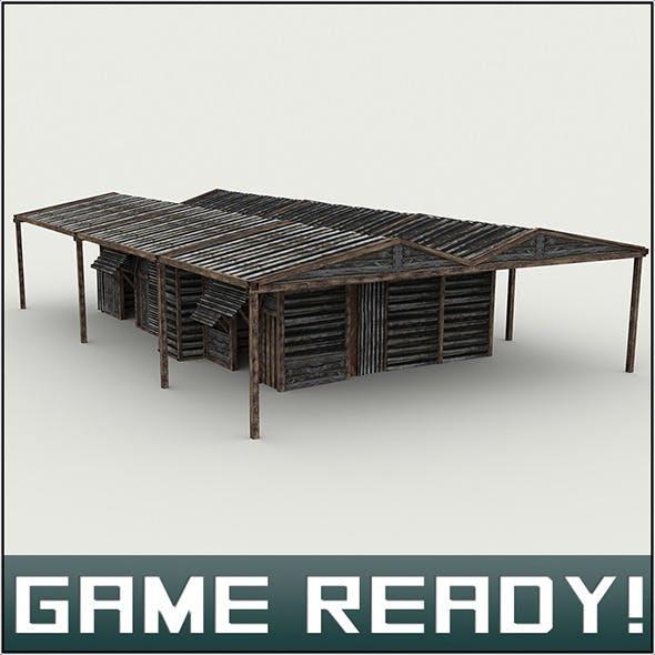 Slums Building #5 - 3DOcean Item for Sale