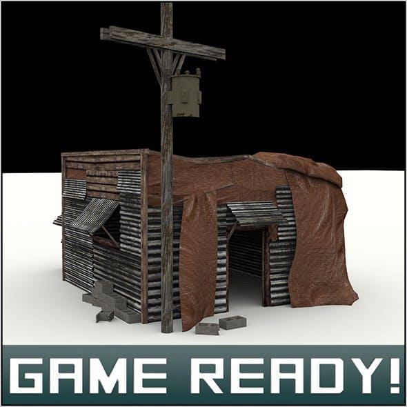 Slums Building #7 - 3DOcean Item for Sale