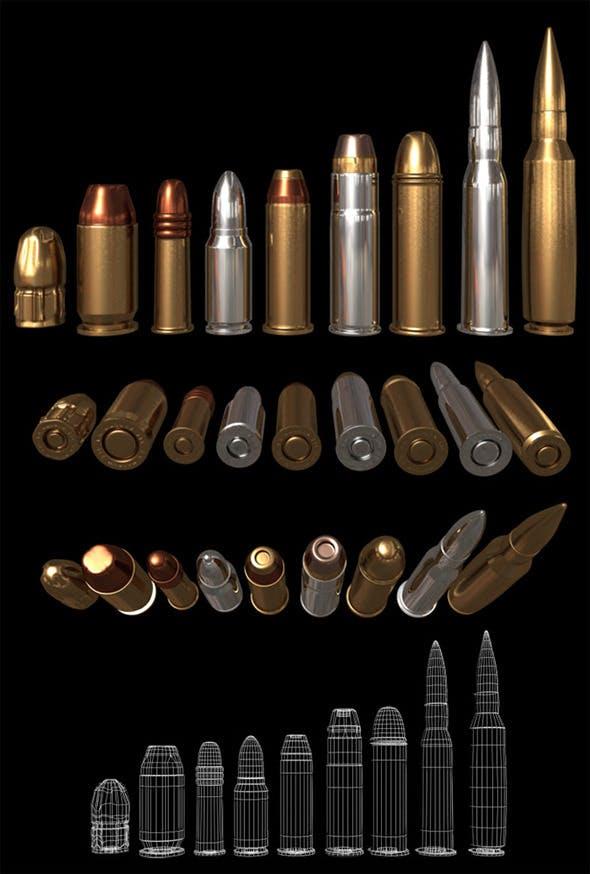 Bullets - 3DOcean Item for Sale