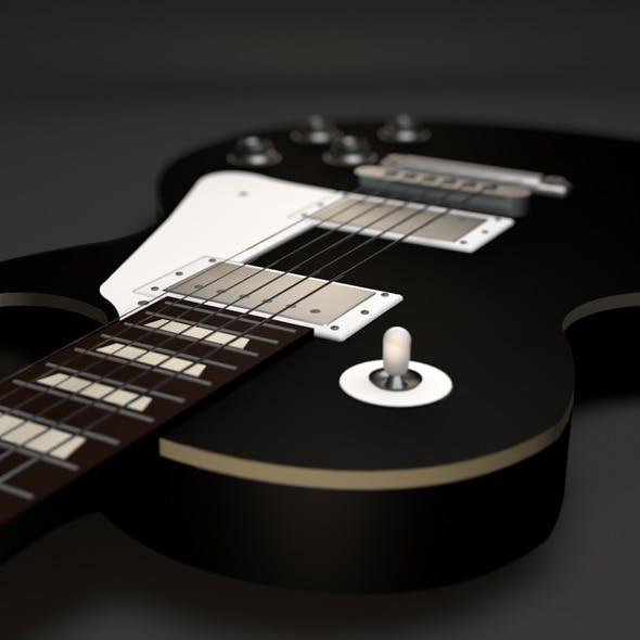 Gibson Les Paul Guitar - 3DOcean Item for Sale