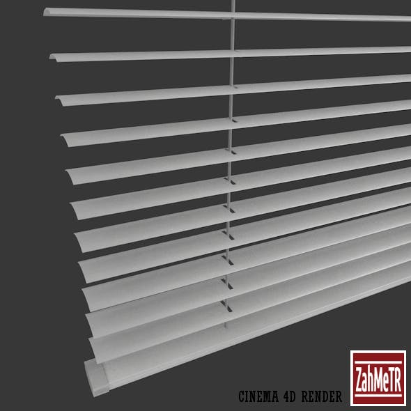 Venetian Window Blind Low Poly Fully Quad - 3DOcean Item for Sale