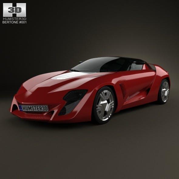 Bertone Mantide 2009 - 3DOcean Item for Sale
